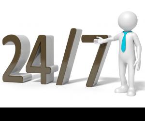 24/7 hot water repairs service