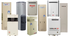 Gas hot water systems brands